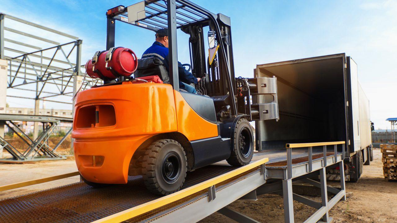 Mile High Propane Forklift